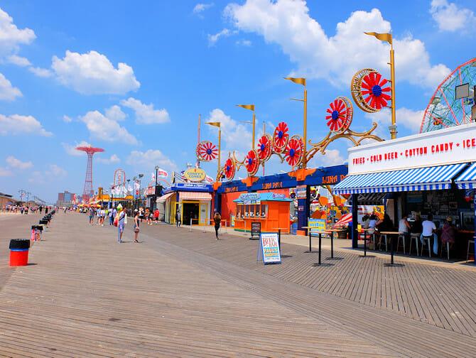 Coney Island en Nueva York - Pasarela
