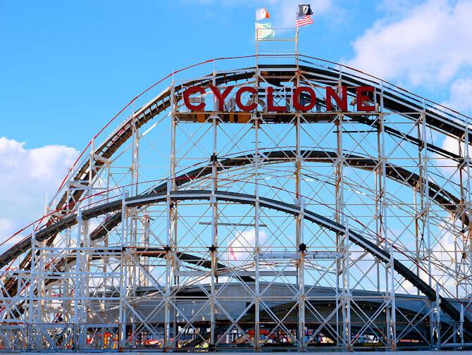 Coney Island en Nueva York - Luna Park
