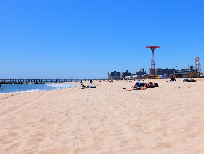 Coney Island en Nueva York - La playa