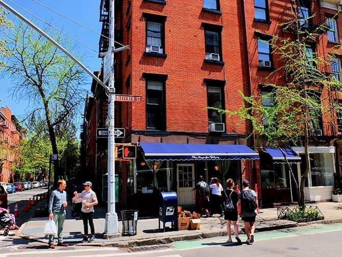 West Village en Nueva York - Bleecker Street