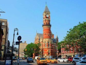 West Village New York Jefferson Market Public Library