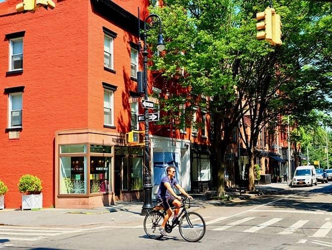 West Village en Nueva York - Perry St y Bleecker St
