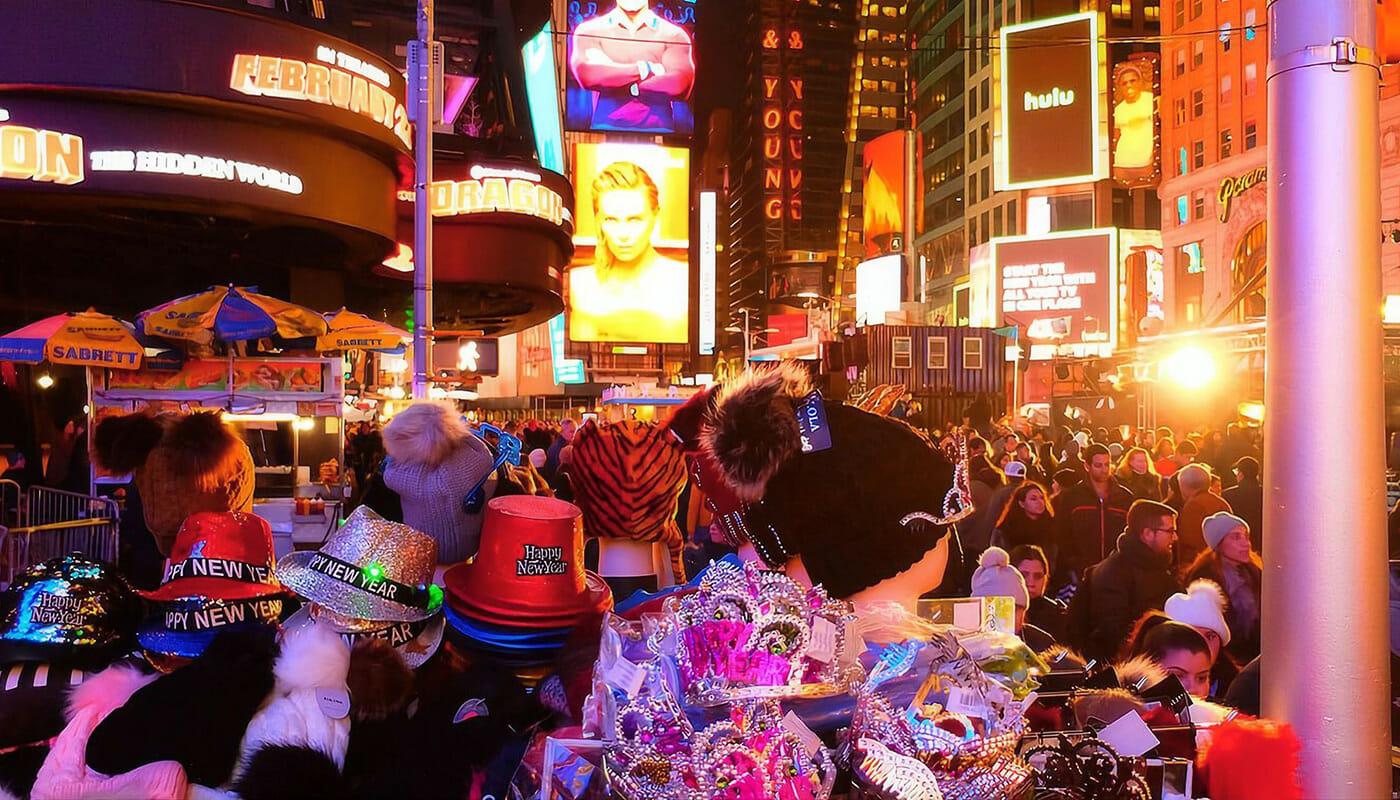 Fin de Año en Nueva York - Decoraciones