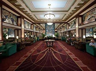 Edison Hotel en NYC - Lobby