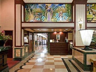 Edison Hotel en NYC - recepcion