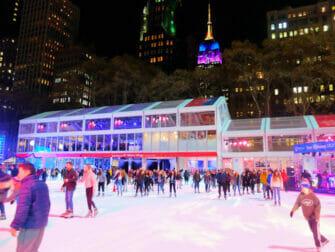 Patinar sobre hielo en Nueva York - Bryant Park2