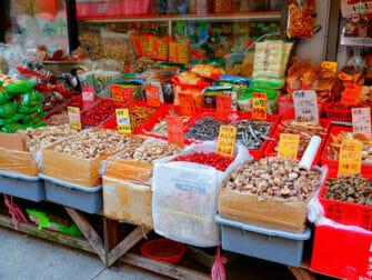 Chinatown en NYC - letreros en chino