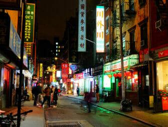 Chinatown en NYC - edificios