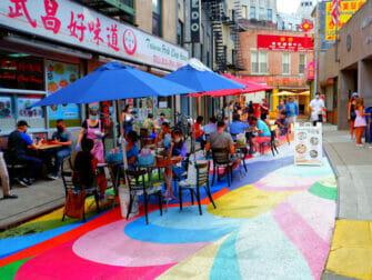 Chinatown en NYC - calles