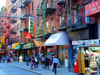 Chinatown en NYC - tiendas