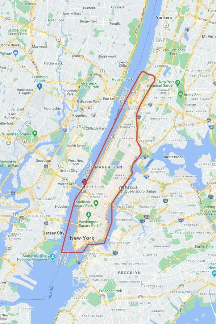 Circle Line crucero Best of NYC Cruise - Recorrido
