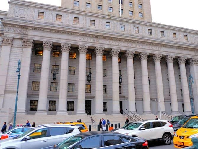 Civic Center en Nueva York - Palacio de justicia