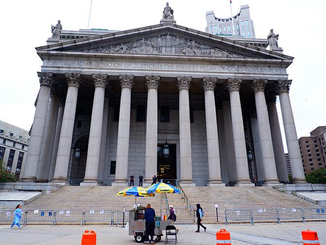 Civic Center en Nueva York - Law and Order