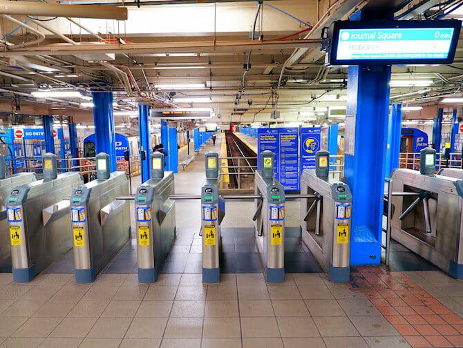 PATH Train en NYC - De NY a Nueva Jersey