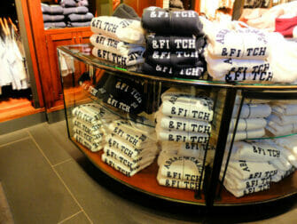 Abercrombie and Fitch en Nueva York - colas