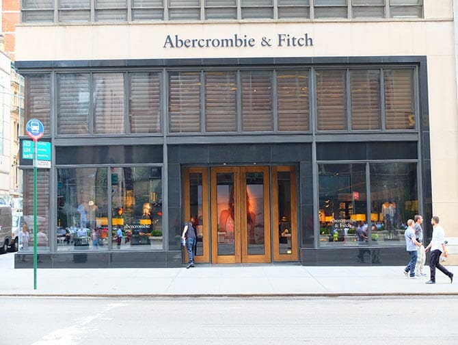 Abercrombie and Fitch en Nueva York