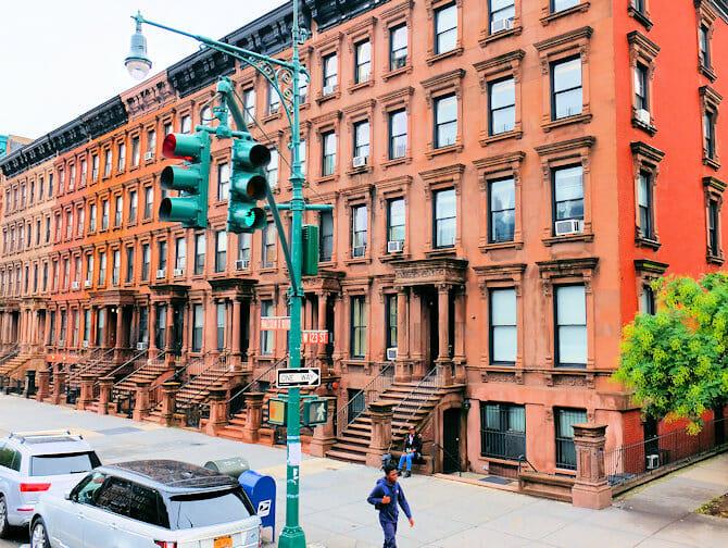 Harlem en Nueva York - Brownstones