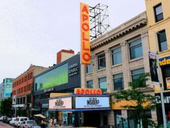 Harlem en New York - Apollo Theatre