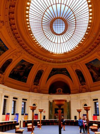 National Museum of the American Indian en Nueva York - interior