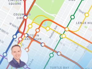 Mapas, planos y callejeros de NYC