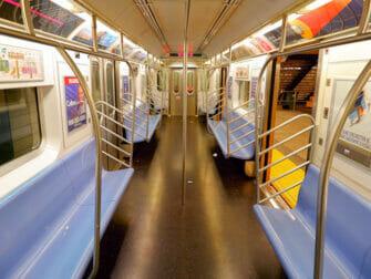 Metro en NYC - interior