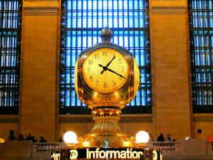 Horario comercial en Nueva York