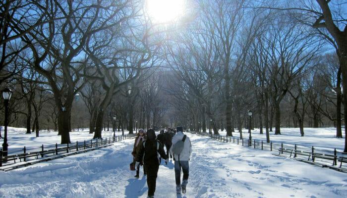 El tiempo en Nueva York - Invierno