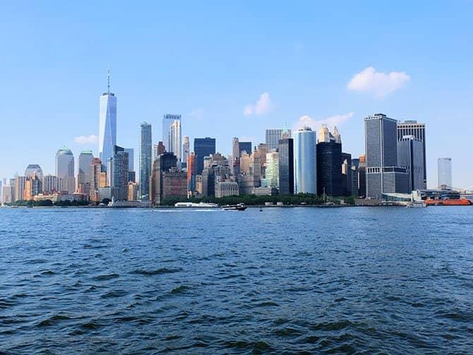 Brunch con champagne en velero por Nueva York - Vistas desde el barco