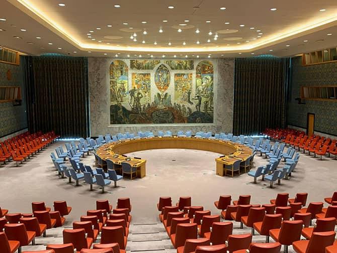 Las Naciones Unidas en Nueva York - Sala del Consejo de Seguridad