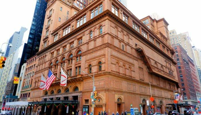 Carnegie Hall en Nueva York - sala de conciertos