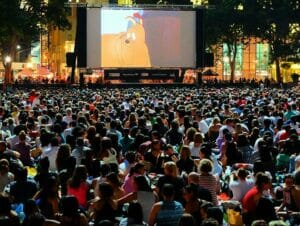 Cine gratis en Bryant Park