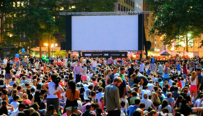 Cine gratis en Bryant Park - Peliculasal aire libre