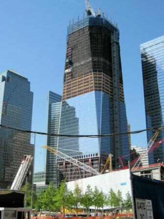Freedom Tower en Nueva York - En construcción