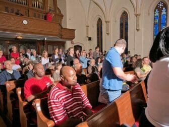 Tours gospel en Nueva York - en la iglesia