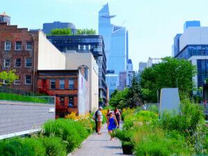 High Line Park en Nueva York
