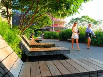 High Line Park en Nueva York - Tumbonas