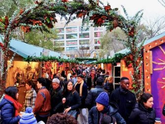 Mercados de Nueva York - Union Square Christmas Market