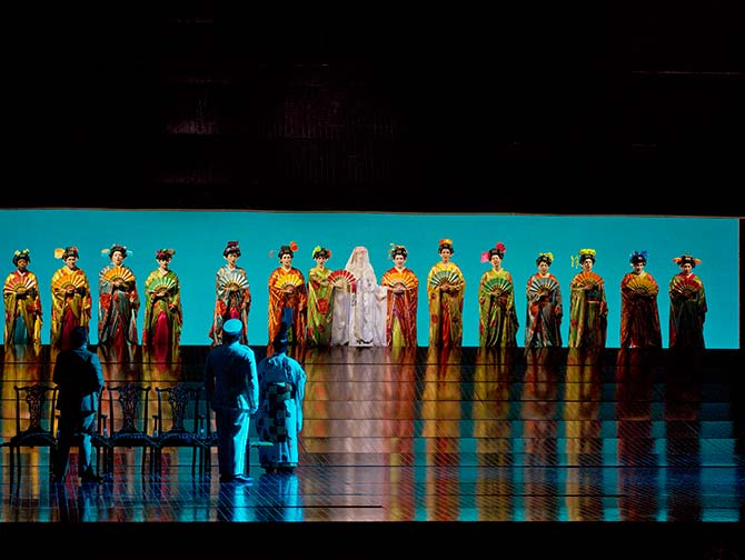 Tickets para la opera en Nueva York - Madama Butterfly
