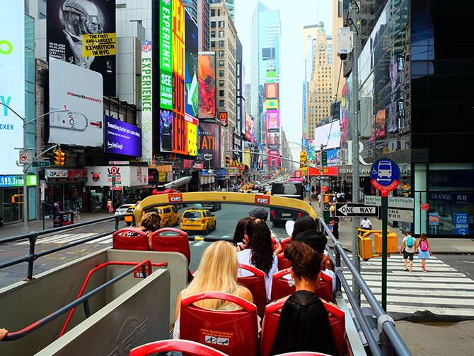 Big Bus en Nueva York - Vista