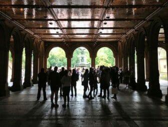 Central Park en Nueva York - Bethesda Terrace