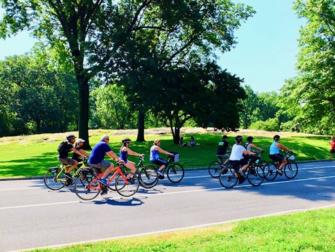 Central Park en Nueva York - Ir en bicicleta