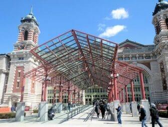 Ellis Island en NYC - Entrada al museo