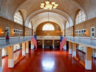 Ellis Island en Nueva York - Registro