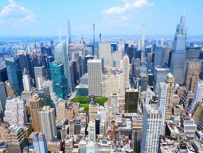 Tickets para el Empire State Building - Vista Uptown Manhattan