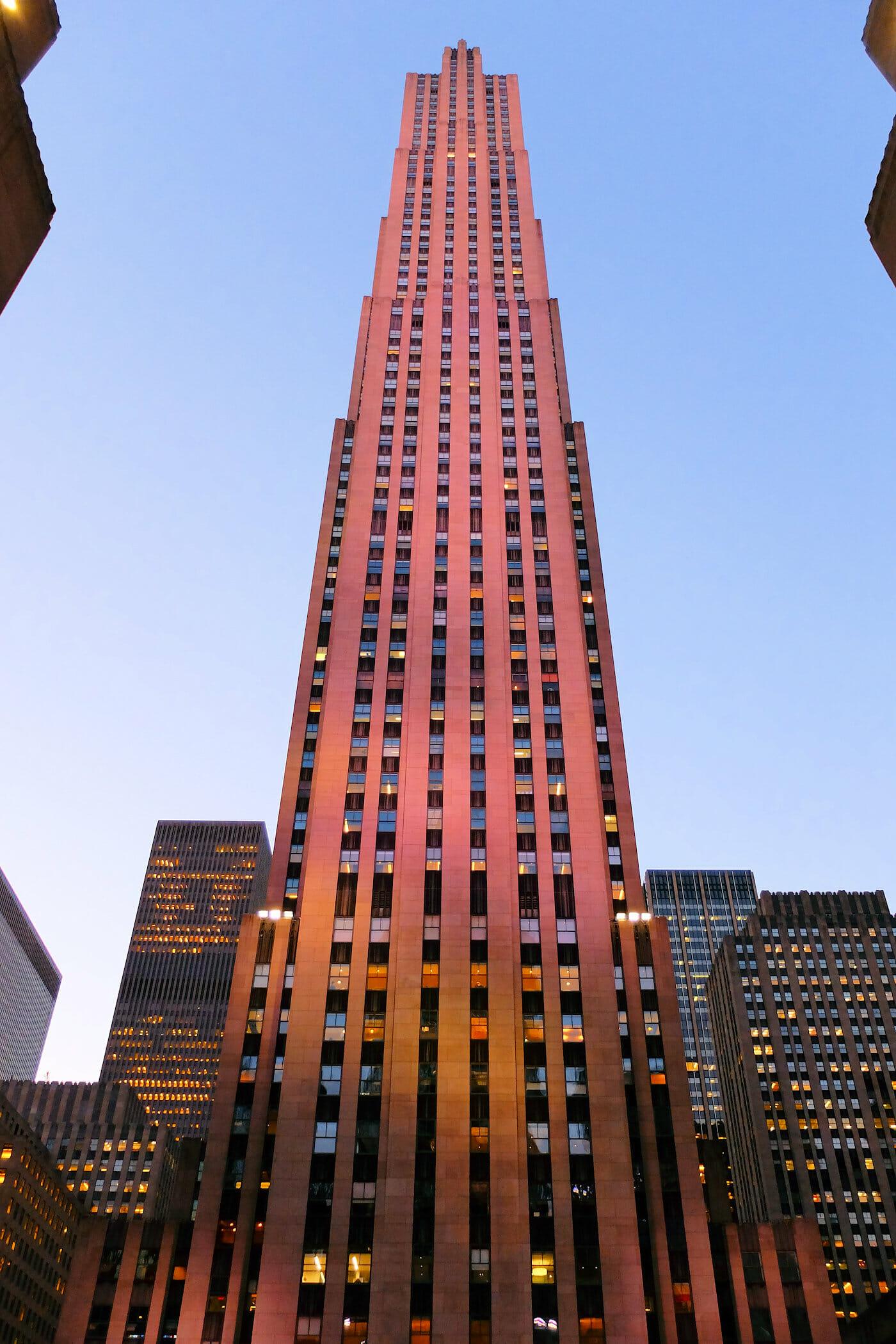 Rockefeller Center en Nueva York - Comcast Building