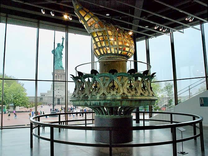 Estatua de la Libertad - La antorcha