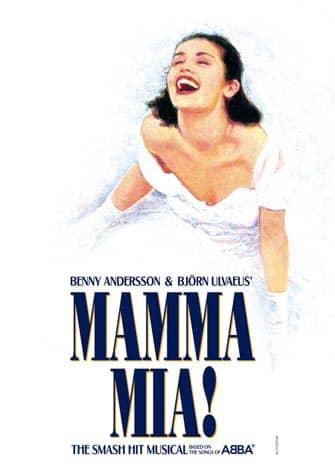 Mamma Mia en NYC - poster