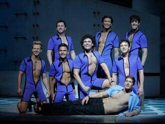 Mamma Mia en NYC - actores masculinos