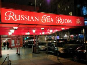 Russian Tea Room en Nueva York