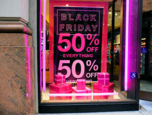 Black Friday en Nueva York
